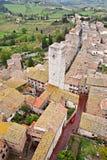 San Gimignano Italia Foto de archivo