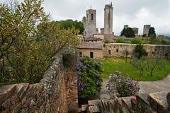 San Gimignano Italia Foto de archivo libre de regalías