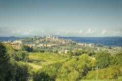 San Gimignano Italia Imagen de archivo libre de regalías