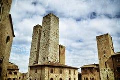 San Gimignano, Italia Imagenes de archivo