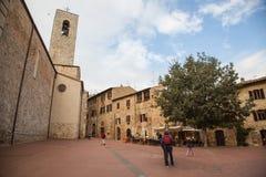 San Gimignano, Italia Fotografie Stock Libere da Diritti