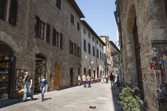 San Gimignano. Stock Photography