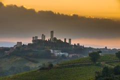 San Gimignano, Italie photographie stock libre de droits