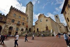San Gimignano Italien Royaltyfri Foto