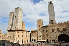 San Gimignano, Italien Lizenzfreie Stockbilder