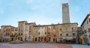 San Gimignano - Italien Arkivbilder