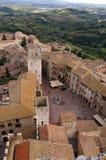 San Gimignano Italien Lizenzfreies Stockbild