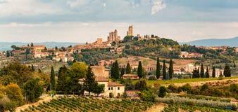 San Gimignano - Italien royaltyfri foto