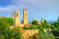 San Gimignano -Italy Stock Photo