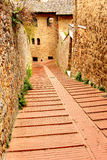 San Gimignano italy Royaltyfria Bilder