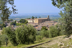 San Gimignano in Italy Stock Photography