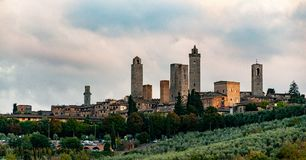 San Gimignano - Italy royalty free stock images