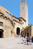 The medieval town of San Gimignano in Tuscany, Italy Royalty Free Stock Photography