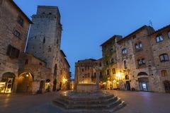 San Gimignano, Italy. San Gimignano Medieval Village,Tuscany, Italy, Europe Stock Image