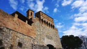 San Gimignano in Italy Stock Photography