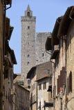 San Gimignano in Italy Royalty Free Stock Photos
