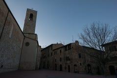 San Gimignano jest jeden rozpoznawalny i ikonowy destina zdjęcia royalty free