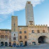 San Gimignano - l'Italia Fotografia Stock Libera da Diritti