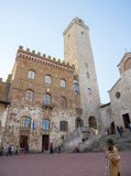San Gimignano - l'Italia Fotografie Stock Libere da Diritti