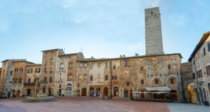 San Gimignano - l'Italie Images stock