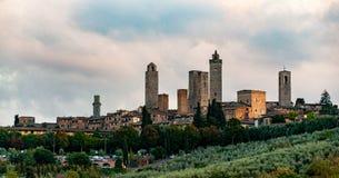 San Gimignano - l'Italie images libres de droits