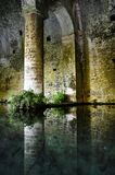San Gimignano medieval fountain Royalty Free Stock Photo