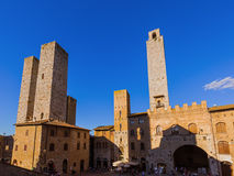 San Gimignano medieval town in Tuscany Italy Royalty Free Stock Image