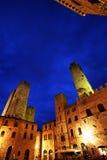 San Gimignano Medieval Village Royalty Free Stock Photography