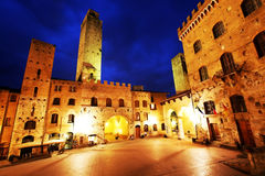 San Gimignano Medieval Village Royalty Free Stock Photo