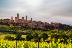 San Gimignano Medieval Village, Italy, Europe Royalty Free Stock Images