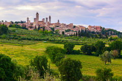 San Gimignano Medieval Village, Italy, Europe Royalty Free Stock Image