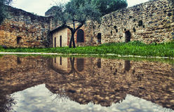 San Gimignano, after the rain Stock Photos
