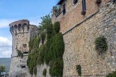 San Gimignano, Siena, at morning Royalty Free Stock Images