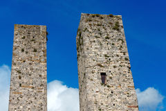 San Gimignano - Siena Tuscany Italy Imagens de Stock