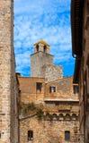 San Gimignano - Siena Tuscany Italy Fotos de Stock Royalty Free