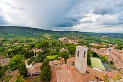 San Gimignano - Siena Tuscany Italy Imagen de archivo libre de regalías