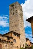 San Gimignano - Siena Tuscany Italy Foto de Stock Royalty Free