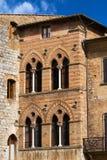 San Gimignano - Siena Tuscany Italy Arkivfoto