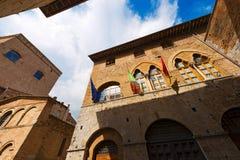 San Gimignano - Siena Tuscany Italy Arkivfoton
