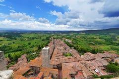 San Gimignano - Siena Tuscany Italy Stock Images