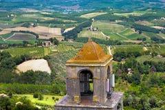 San Gimignano - Siena Tuscany Italy Stock Photography