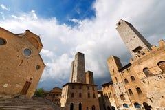 San Gimignano - Siena Tuscany Italy Royalty Free Stock Photo