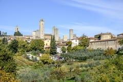 San gimignano, siena, tuscany, italy, europe, general view Royalty Free Stock Photos