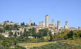 San gimignano, siena, tuscany, italy, europe, general view Royalty Free Stock Image