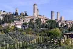 San gimignano, siena, tuscany, italy, europe, general view Stock Photo