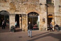 San Gimignano, Stone Buildings Furla Stock Photos