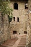San Gimignano street Royalty Free Stock Photo