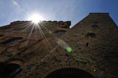 San Gimignano torregrossa Arkivbild