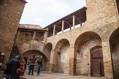 San Gimignano, Toscânia, Italy Fotos de Stock