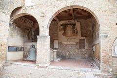 San Gimignano, Toscânia, Italy Foto de Stock Royalty Free